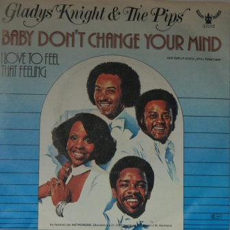 GLADYS KNIGHT & PIPS BABY DONT CHANGE JAPAN ISSUE