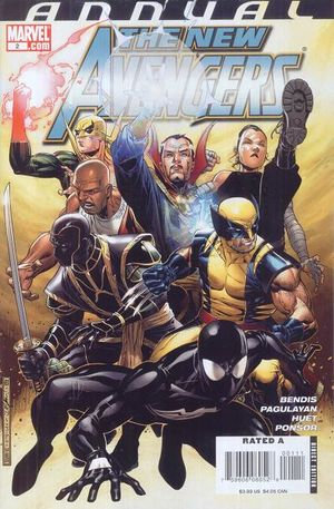 ANNUAL THE NEW AVENGERS 2