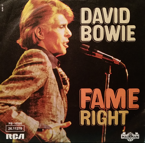DAVID BOWIE FAME import