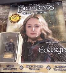 LORD OF THE RINGS CHESS PIECE EOWYN 7
