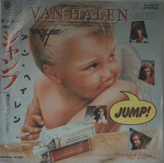 VAN HALEN JUMP JAPANESE ISSUE