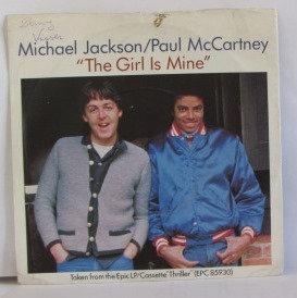 MICHAEL JACKSON PAUL MCCARTNEY THE GIRL IS MINE