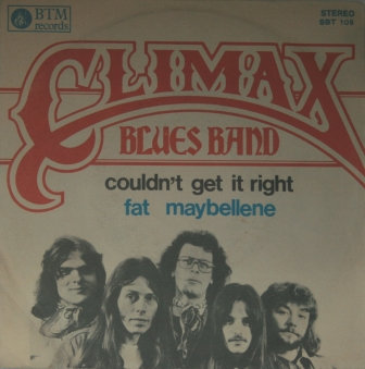 CLIMAX BLUES BAND COULDN'T GET IT IMPORT ISSUE