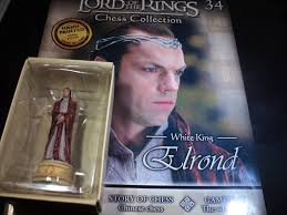 LORD OF THE RINGS CHESS PIECE ELROND 34