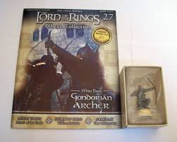 LORD OF THE RINGS CHESS PIECE GONDORIAN ARCHER 27