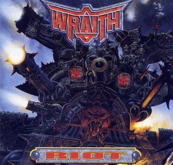 WRATH RIOT RARE WARHAMMER RECORDS CD