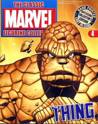 MARVEL FIGURINE COMIC ISSUE 4
