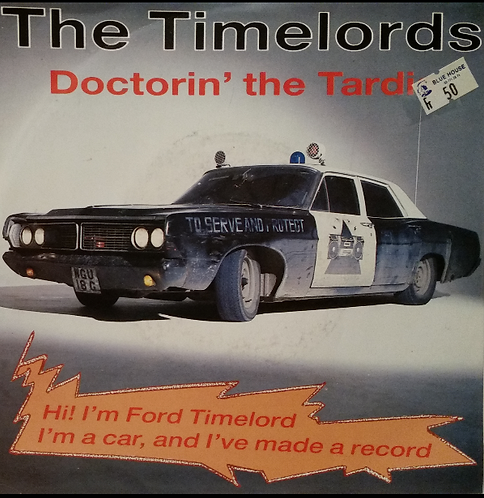 THE TIMELORDS DOCTORIN' THE TARDIS