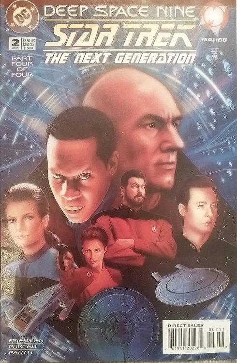 #2 DEEP SPACE NINE STAR TREK THE NEXT GENERATION