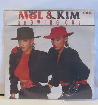 MEL & KIM  SHOWING OUT