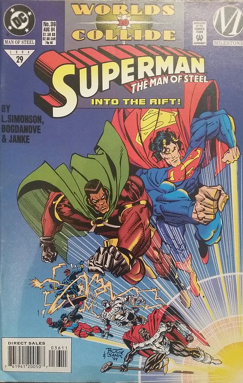 SUPERMAN THE MAN OF STEEL 29