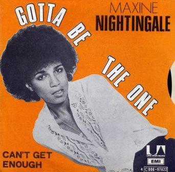 MAXINE NIGHTINGALE GOTTA BE THE ONE  IMPORT
