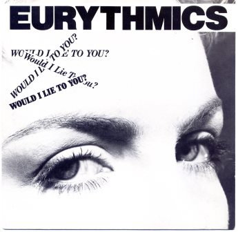 EURYTHMICS  WOULD I LIE TO YOU YELLOW VINYL