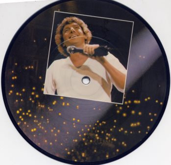 BARRY MANILOW STAY PICTURE DISC  7""