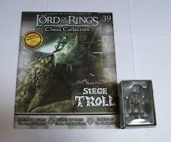 LORD OF THE RINGS CHESS PIECE SEIGE TROLL 39