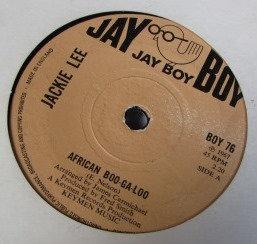 JACKIE LEE AFRICAN BOO-GA-LOO