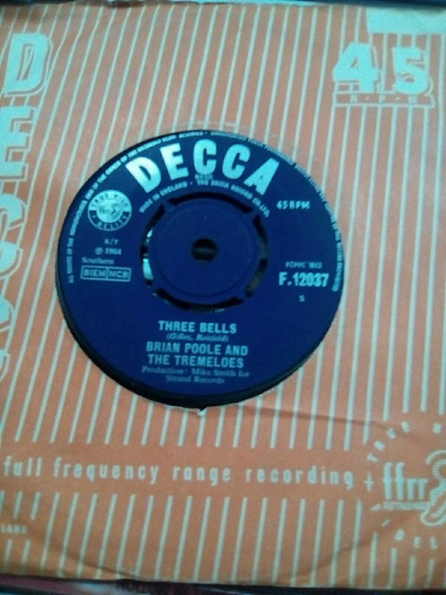 BRIAN POOLE AND THE TREMELOES THREE BELLS