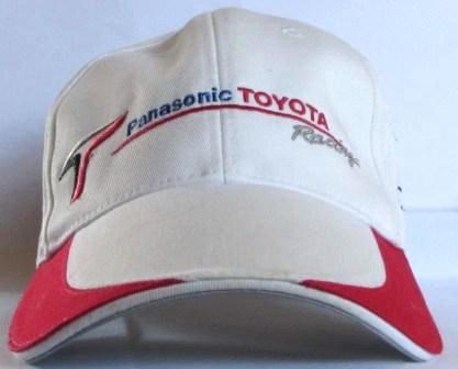 DENSO PANASONIC TOYOTA  F1 CAP