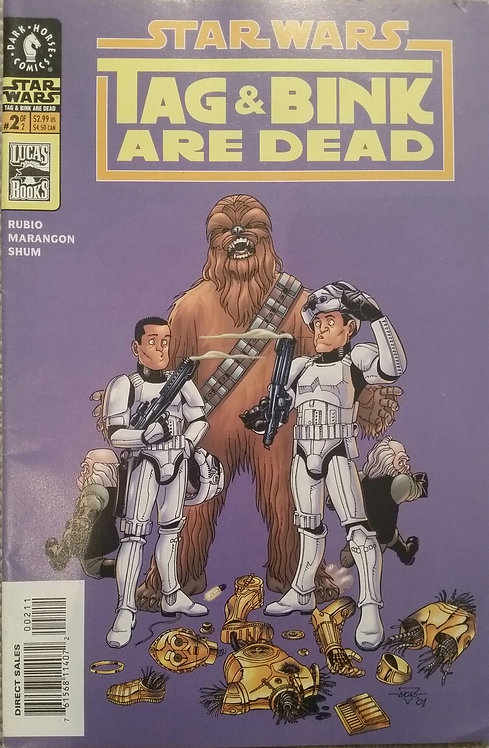 STAR WARS #2 TAG AND BINK ARE DEAD