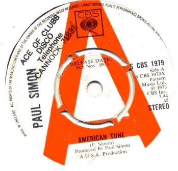 PAUL SIMON AMERICAN TUNE (DEMO)