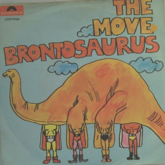 THE MOVE BRONTESAURUS GERMAN PICTURE COVER