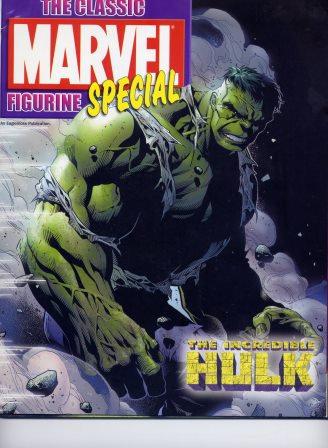MARVEL FIGURINE COMIC HULK  SPECIAL