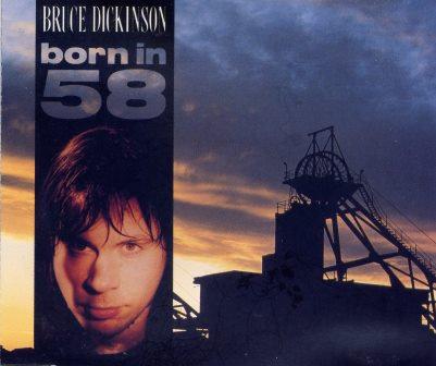 BRUCE DICKINSON BORN IN 58 RARE CD SINGLE