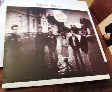 DEACON BLUE WHEN THE WORLD KNOWS YOUR NAME LP