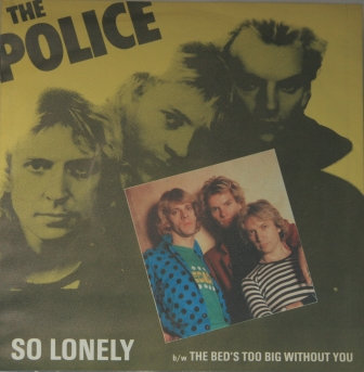 THE POLICE SO LONLEY GERMAN IMPORT ISSUE