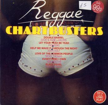 REGGAE CHARTBUSTERS EP 6 TRACKS