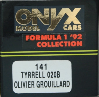 ONYX 141 TYRRELL 00B OLIVER GROUILLARD