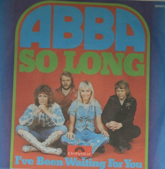 ABBA SO LONG RARE  GERMAN IMPORT