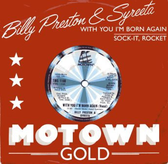 BILLY PRESTON & SYREETA WITH YOU IM BORN AGAIN