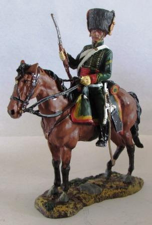 TROOPER NAPOLEON'S IMPERIAL GUARD CHASSEURS 1809