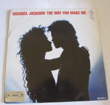 MICHAEL JACKSON THE WAY YOU MAKE DUTCH ISSUE