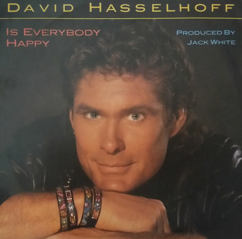 DAVID HASSELHOFF IS EVERYBODY HAPPY
