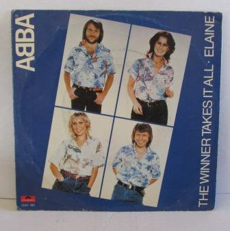 ABBA THE WINNER TAKES IT ALL GERMAN  ISSUE