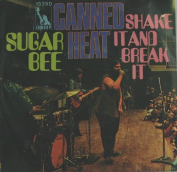 CANNED HEAT SUGAR BEE GERMAN ISSUE