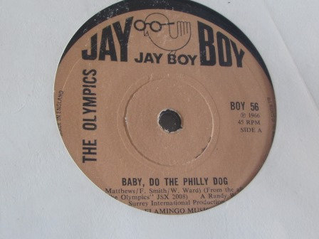 THE OLYMICS BABY DO THE PHILLY DOG