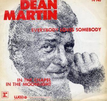 DEAN MARTIN EVERYBODY LOVES SOMEBODY