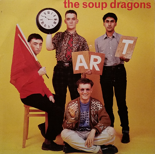 THE SOUP DRAGONS ART HANG-TEN