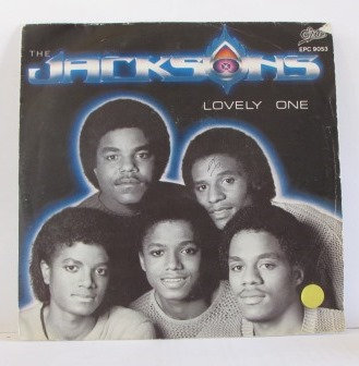 THE JACKSONS LOVELY ONE  DUTCH ISSUE