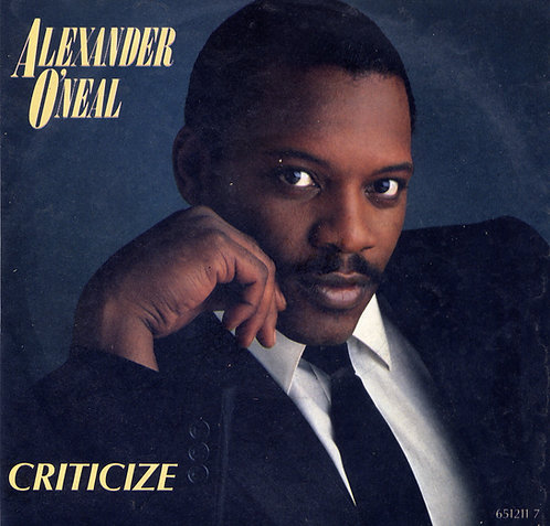 ALEXANDER O'NEAL CRITICIZE