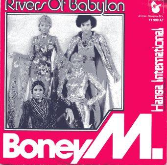 BONEY M RIVERS OF BABYLON DUTCH IMPORT