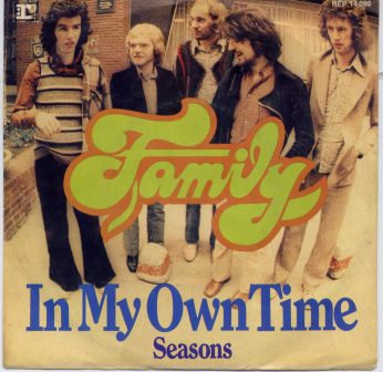 FAMILY IN MY OWN TIME IMPORT