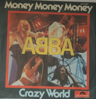 ABBA MONEY MONEY MONEY GERMAN IMPORT