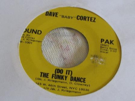 DAVE BABY CORTEZ ( DO IT ) THE FUNKY DANCE