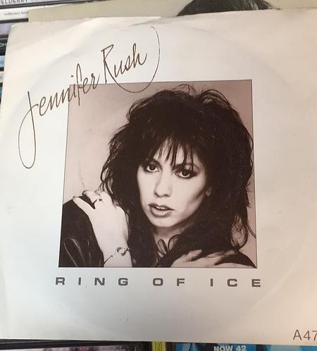 "JENNIFER RUSH RING OF ICE 7"""