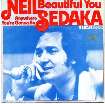 NEIL SEDAKA BEAUTIFUL YOU  IMPORT