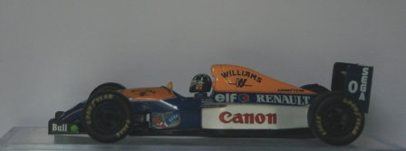ONYX 1:24 DAMION HILL WILLIAMS RENAULT FW15C